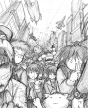 Just another day in Megatokyo