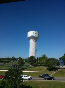 Fun fact: There's a Segway racetrack at the base of the Branson water tower.